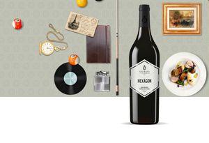 JMF - Hexagon wine