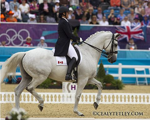 Jacqueline Brooks Top Performer for Canadian Olympic Team for Dressage