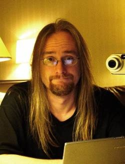 Jens Johansson (keyboardist/songwriter for Stratovarius).  One of the most gifted keyboardists in the world!