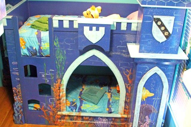 Under The Sea Bedroom 2nd Bunk Bed Room Has 2 Twin