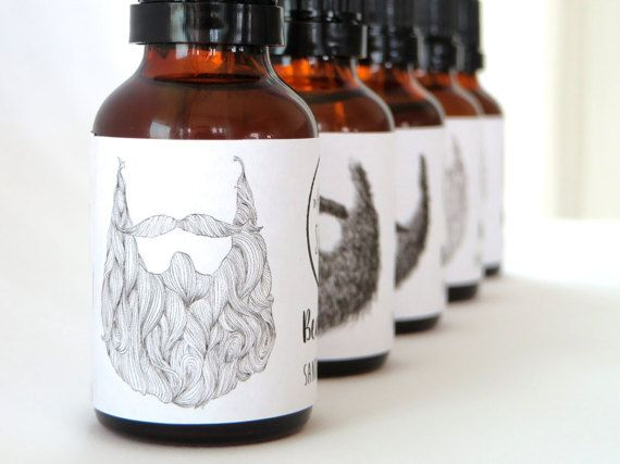 Let's pamper dad while we are at it...Men's All Natural Vegan Beard Oil by keepingsunday on Etsy