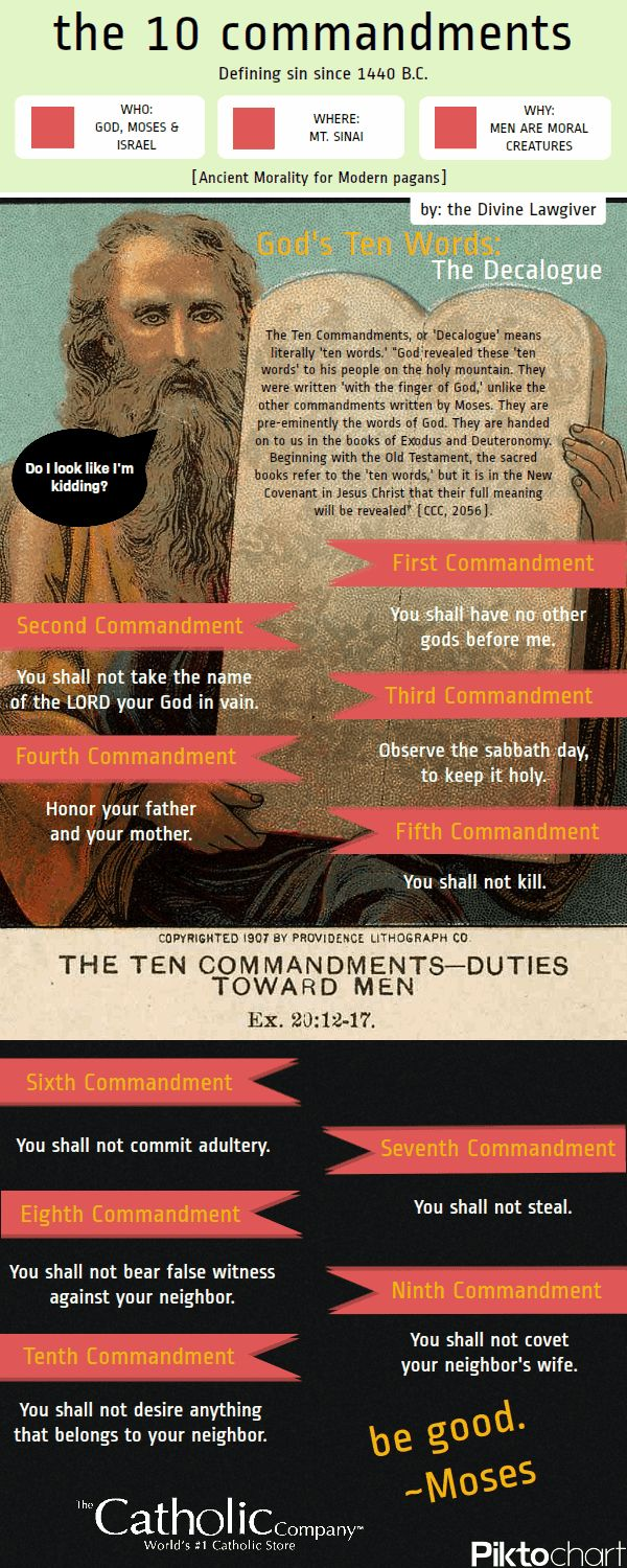 the ten commandments and the beatitudes essay Most christians have heard about these ten commandments while going through grade school and high school and the story as to how they all came about.
