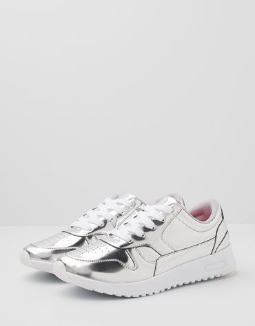 Bershka Japan - BSK metallic running shoes