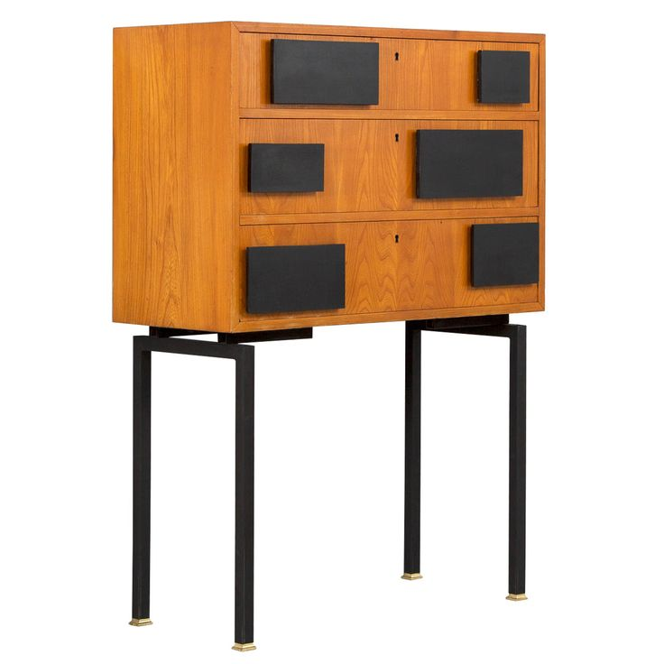 Rare Scandinavian Chest of Drawers | From a unique collection of antique and modern commodes and chests of drawers at http://www.1stdibs.com/furniture/storage-case-pieces/commodes-chests-of-drawers/