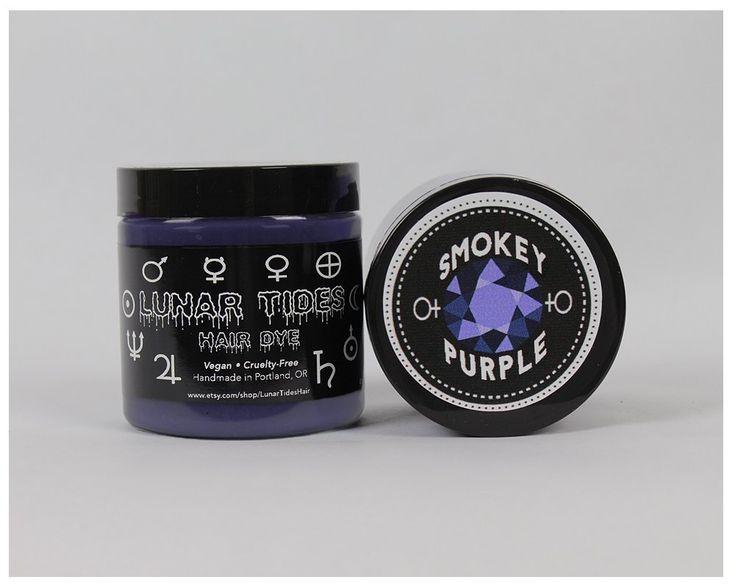 Lunar Tides Hair Dye - Smokey Purple Grey Semi-Permanent Vegan Hair Color (4 fl oz / 118 ml) ** Find out more at the image link. #hairhealth