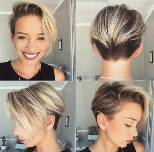Diese Kurzhaarfrisuren mit starkem Undercut wirst Du sicherlich lieben! - Neue Frisur