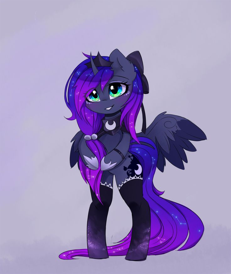 mylittleponygames:    Kawaii Luna by MagnaLuna Image Source: http://ift.tt/2bq8sWb  Follow My Little Pony Games for new games fan art and memes daily!