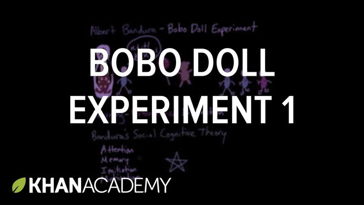 Observational Learning: Bobo Doll Experiment and Social Cognitive Theory