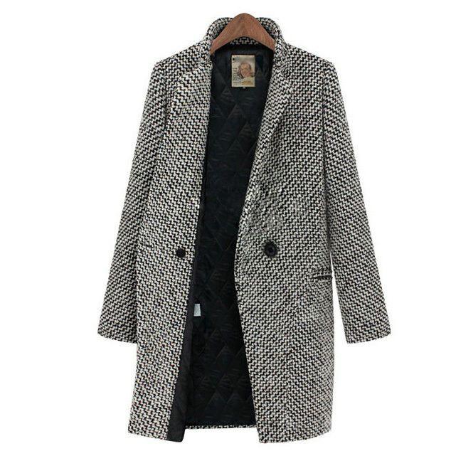 Damen Coat Wintermantel Warm