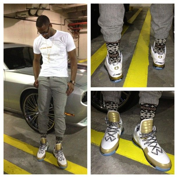 Dwyane Wade's postgame fashion. Yay or Nay?