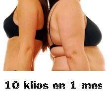 Para adelgazar 10 kilos en 1 mes necesitamos un plan efectivo, saludable y de…
