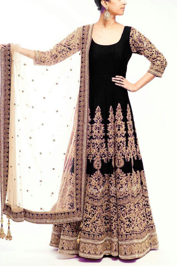Anarkali Bridal Salwar Kameez Designer Indian Dress Bollywood Ethnic Party | eBay