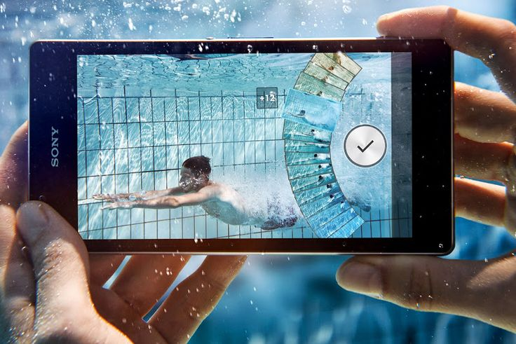 Xperia Z1 With Timeshift Burst