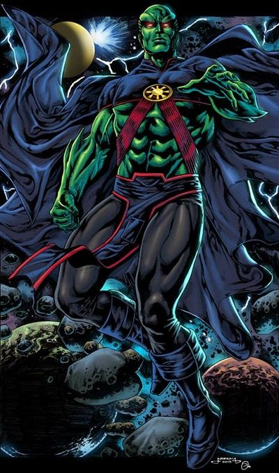 martian manhunter justice league - Google Search