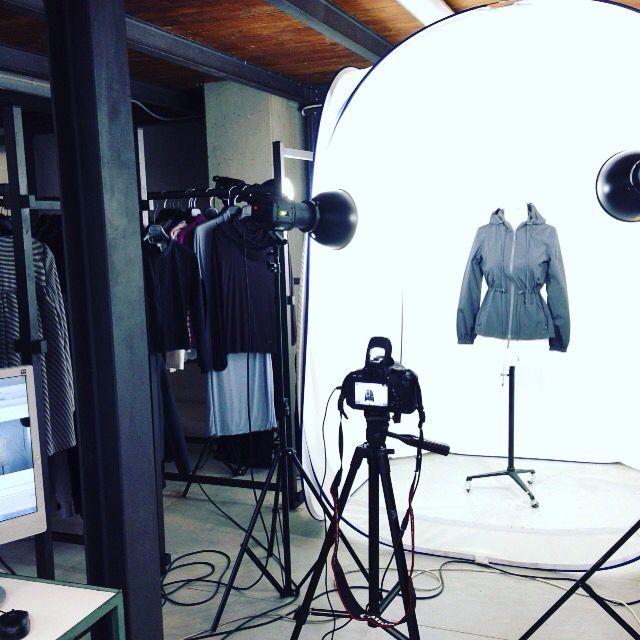 Working on the #unomaglia fashion archive #photo #fashion