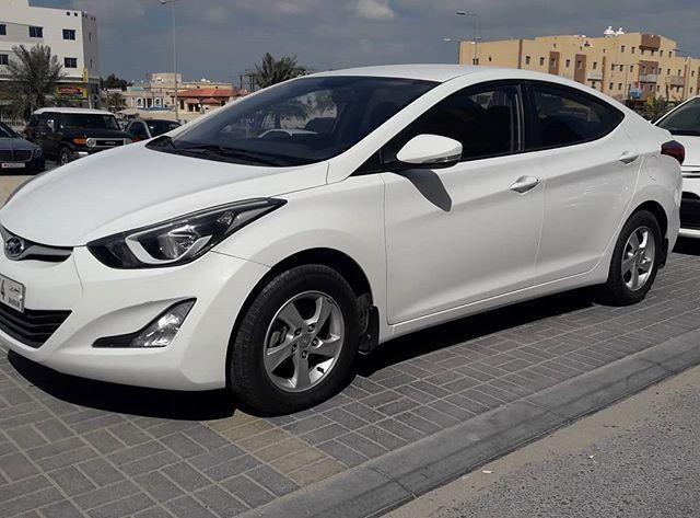 للبيع هونداي الينترا الموديل 2016 ماشي 73 الف كيلومتر الون أبيض تأسجيل وتأمين الى 9 2020 وكالة البحرين الحالة ممتازة المطلوب 3 Car Car Door Bmw Car