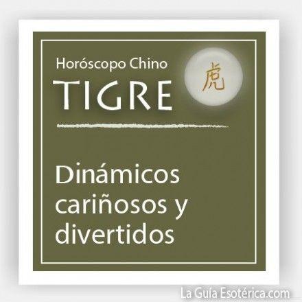 Horóscopo Chino Tigre (Pulsa en la imagen para ver lo que te depara el 2014)