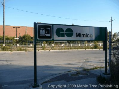 Mimico Go Train Station