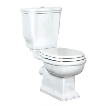 WC no2 F Classic Klassisk wc i vitt porslin för väggmontage. Finns även i svart porslin. Wc sitsen här i vitt och krom beslag. Finns i antik guld beslag, mot pristillägg.