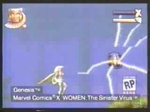 """""""X-Women: The Sinister Virus"""", o 3º jogo dos X-Men para Mega Drive que foi cancelado – Blogtectoy"""