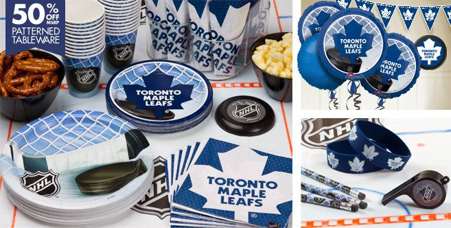 Toronto Maple Leafs Party Supplies - Party City