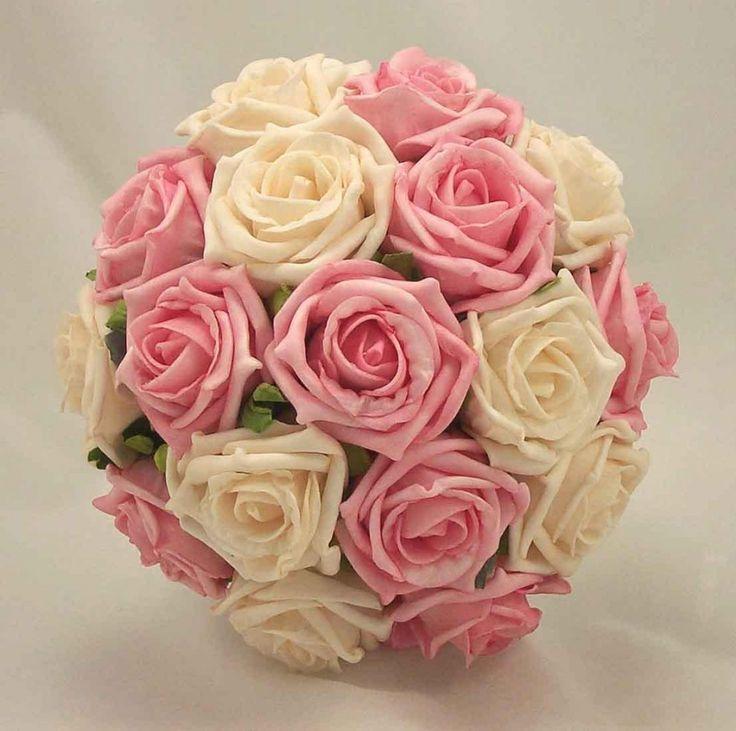Bukiety ślubne – róże-60