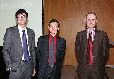 Ponentes: Robert Smith, Alberto García y Pedro Martínez.