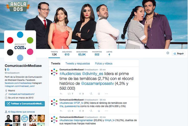 Mediaset Twitter