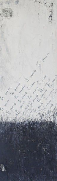 Yo Te Amo.Oil on Panel.24×8