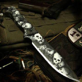 Custom knife coating