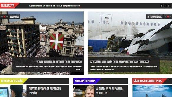 Último periódico de noticias nacionales e internacionales realizado por el equipo de diseño web de Vigo Marketing.