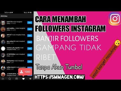 Cara Menambah Followers Instagram Tanpa Aplikasi Dan Akun Tumbal Instagram Youtube Aplikasi