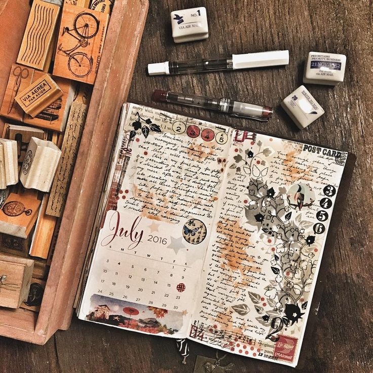 My first journal entry for July... It happens every time I pack away my supplies…
