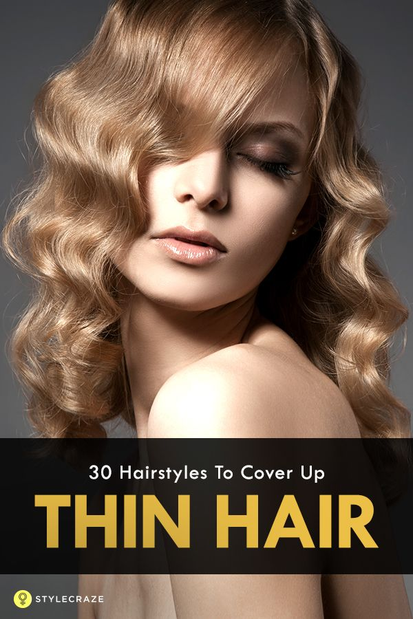 what is the best hairstyle to hide thinning crown 25 best