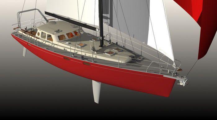 Images 3D Explorer 54 voilier dériveur intégral   My dream yachts   Sailboat, Boat, Sailing