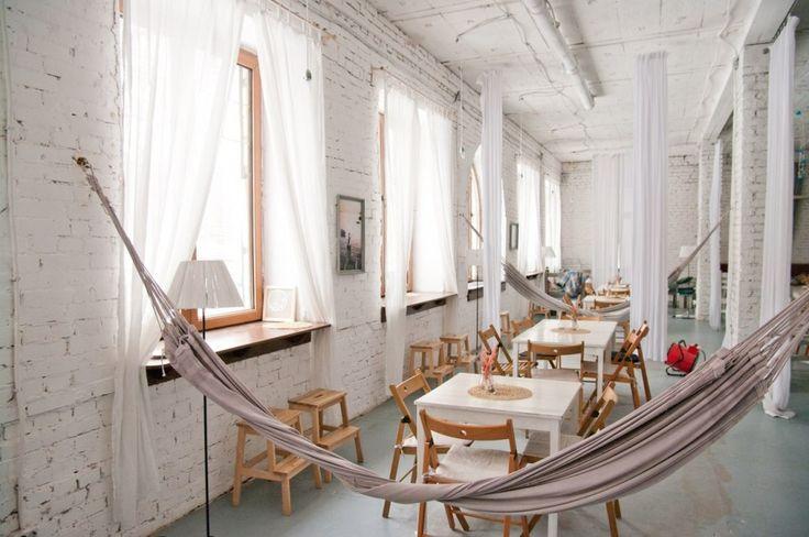 Кафе, веранда и крыша «Море внутри» — Moscow