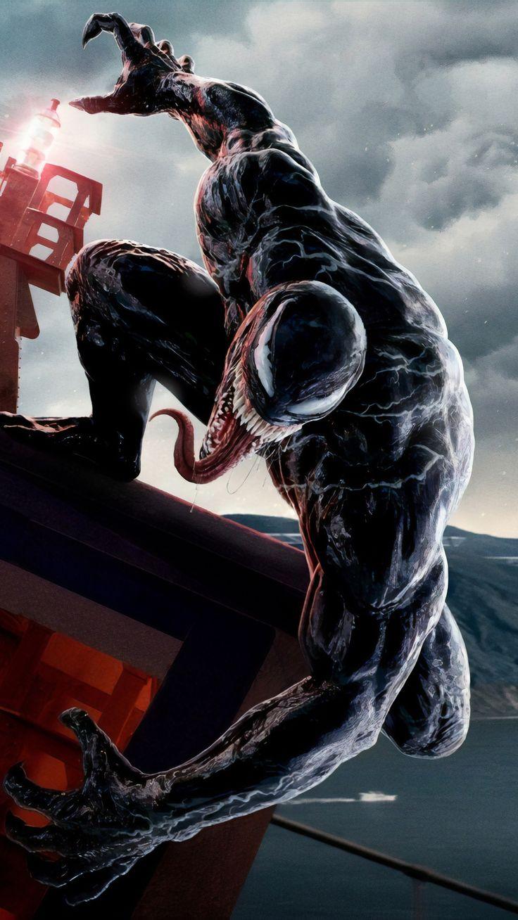 Poster Venom 5k na resolução 1080x1920 Venom comics
