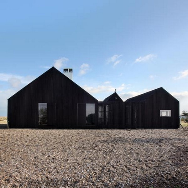 Freshome Shingle House NORD Architecture, Dungeness