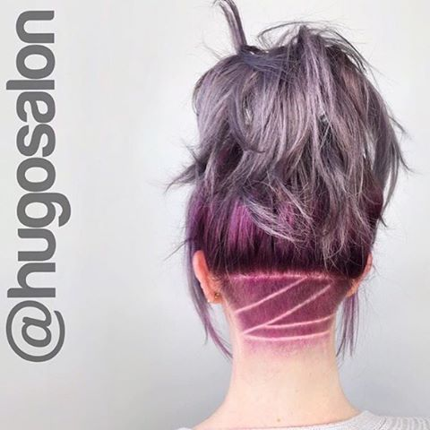 Dye the undercut a fun color