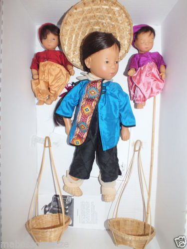 Goetz-Puppe-Sylvia-Natterer-Thi-Mau-Kinder-Kuenstlerpuppe-Gotz-Doll-Poupee