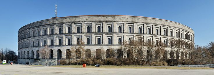 Nuremberg: Congress Hall on Nazi party rally grounds
