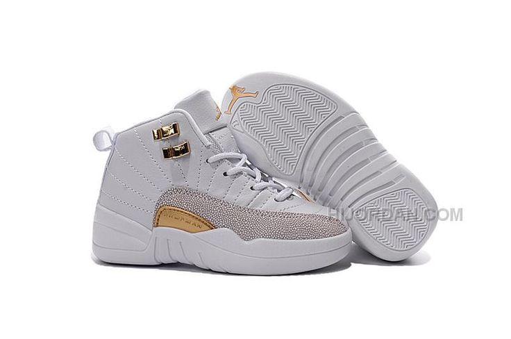 https://www.hijordan.com/2016-discount-nike-air-jordan-12-xii-kids-basketball-shoes-white-golden-child-sneakers.html Only$69.00 2016 DISCOUNT #NIKE AIR #JORDAN 12 XII KIDS BASKETBALL #SHOES WHITE GOLDEN CHILD SNEAKERS Free Shipping!
