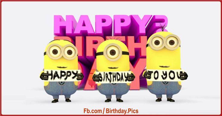 minions happy birthday to you song : happy birthday videos
