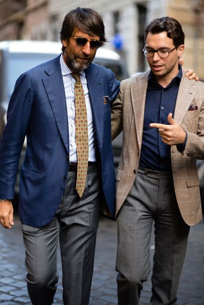 The most stylish men in Naples, Turin and Rome right now