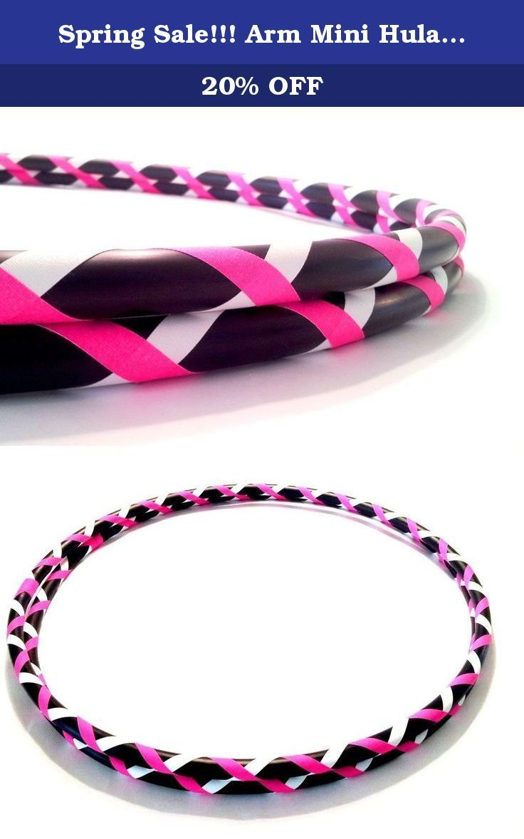 """Spring #Sale!!! Arm Mini Hula Hoop Pair Fitness Guru. DIRECT FROM THE MANUFACTURER. Featuring the original manufacturer of the """"BREAK AWAY"""" the newest innovation in hula hooping. Paradise Hoops is formally the manufacturer for about 90% of Hoopnotica's handmade hula hoops. We have the BEST QUALITY BEST PRICE. This """"BREAK AWAY"""" hula hoop was created by Janou Lightning former team leader of Hoopnotica. She took her expertise in the hooping industry and made a hoop that is easy to break down…"""