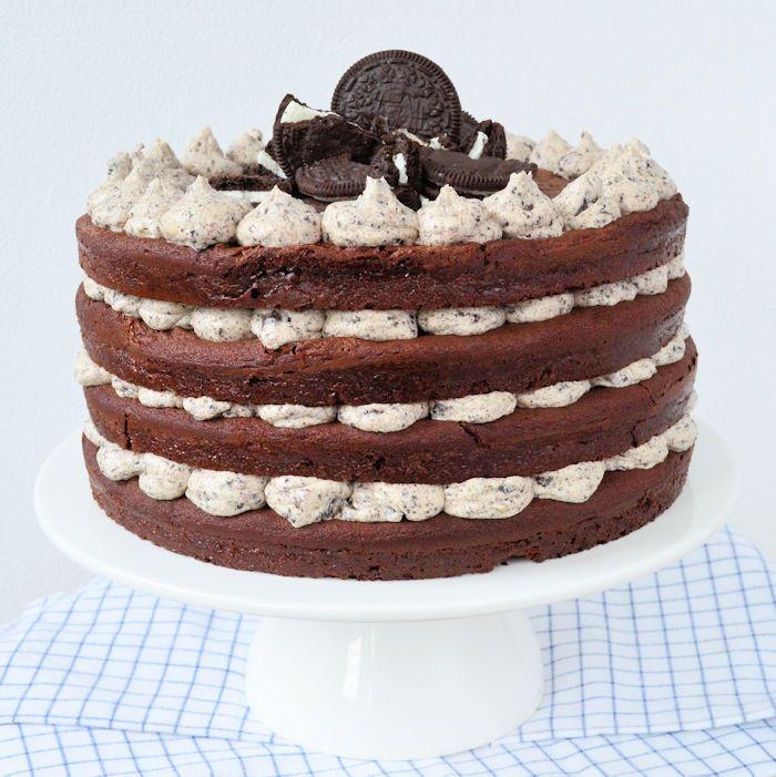 Baksels met Oreo's zijn eigenlijk altijd goed, maar deze Oreo taart is toch wel het beste Oreo gebak ooit! Hier het recept voor deze smeuïge Oreo taart!