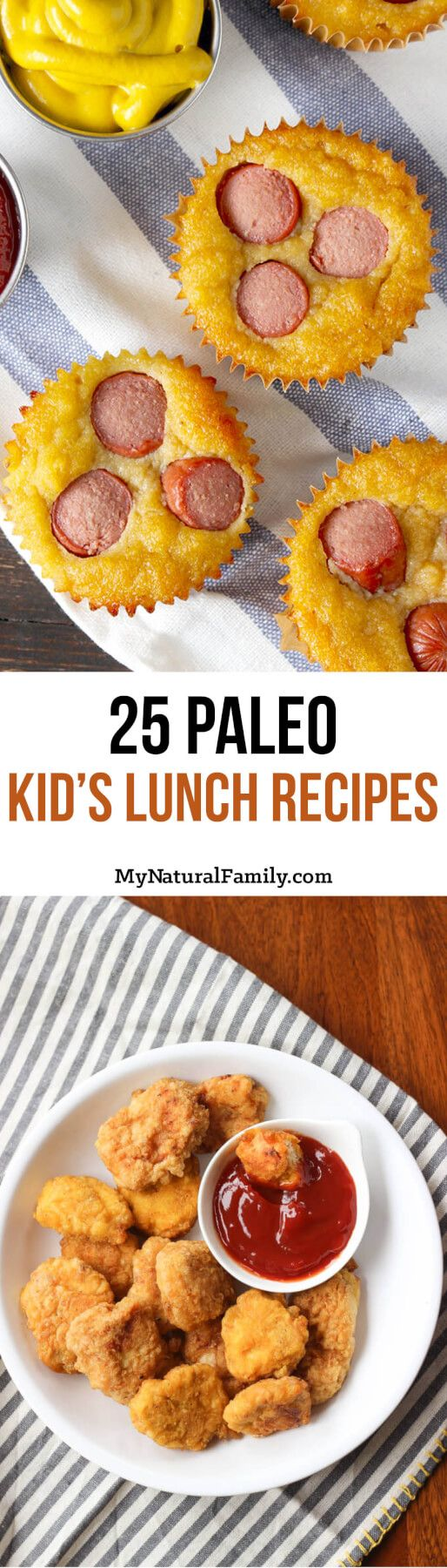 - My son is on a Paleo diet and believe me, I know how hard it is. That is why I made this list of 25 Paleo Kids Lunch Recipes.