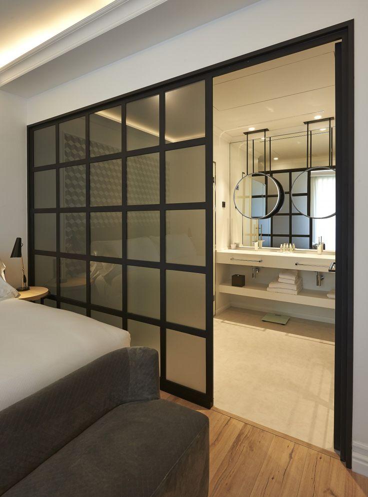 les 25 meilleures id es de la cat gorie cloison japonaise sur pinterest porte coulissante. Black Bedroom Furniture Sets. Home Design Ideas