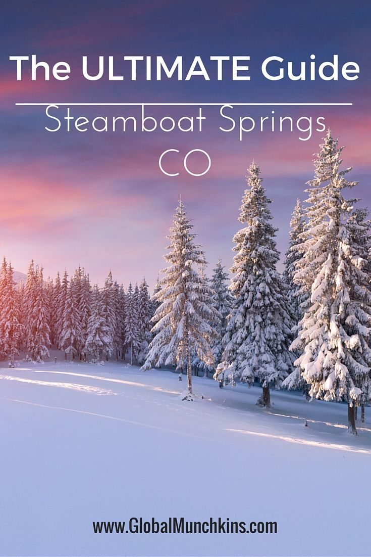 Looking for things to do in Steamboat? Or just looking for an awesome ski town to take the family to? Then the ULTIMATE guide to Steamboat Springs is PERFECT. Check it out and see why Steamboat Springs should be at the TOP of your family bucketlist! .   .   . See more Family Vacation Ideas at www.GlobalMunchkins.com: