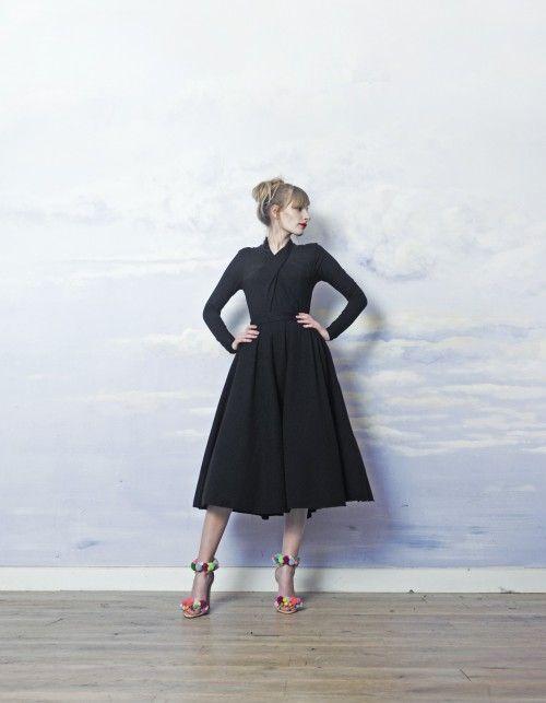 skirt TYRMANDÓWKA black